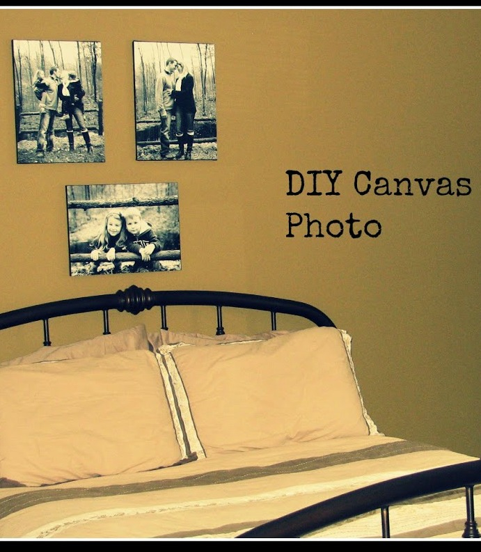Do It All Working Mom - DIY Canvas Pictures