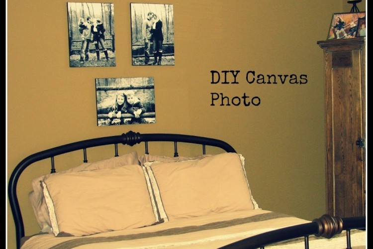 Canvas Pictures DIY