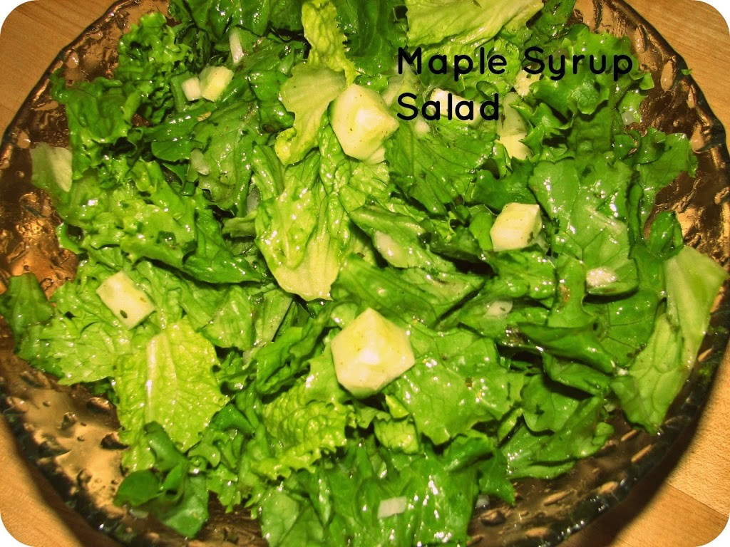 Maple Syrup Salad