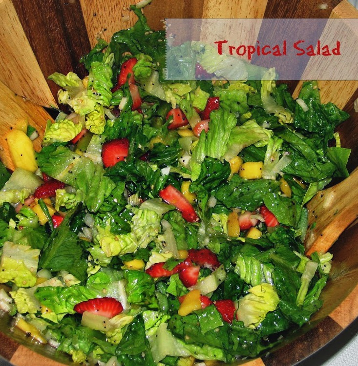 Do It All Working Mom - Tropical Salad