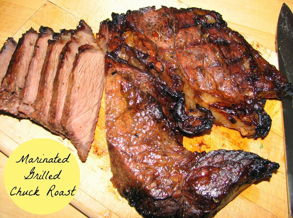 Marinated Grilled Chuck Roast