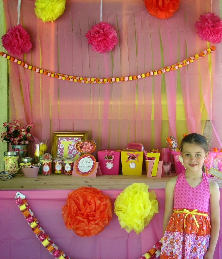 Summer Birthday Party Ideas Lily S 7th Birthday Party Do It All