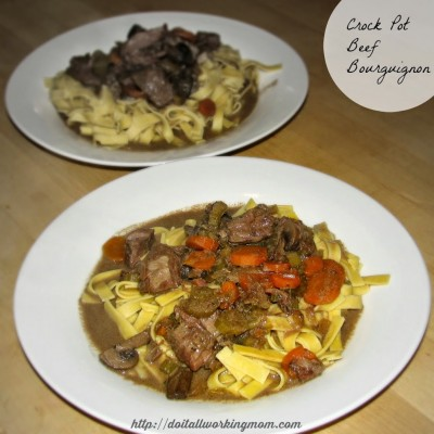 Crockpot Beef Bourguignon Recipe