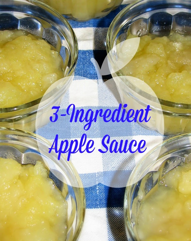 3-Ingredient Apple Sauce