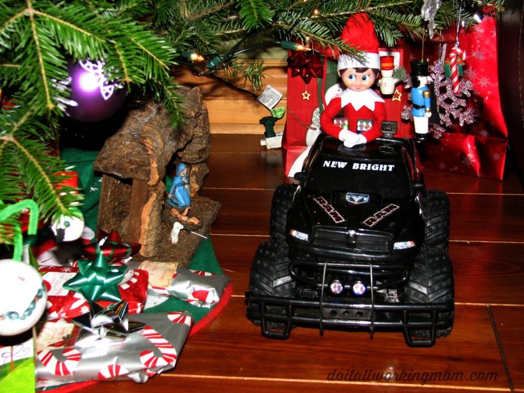 Christmas elf on the shel ideas