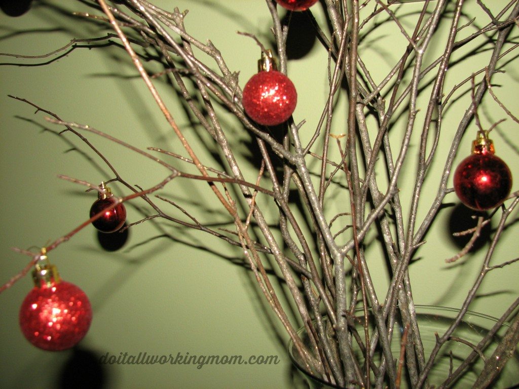 Christmas Sparkling Branches