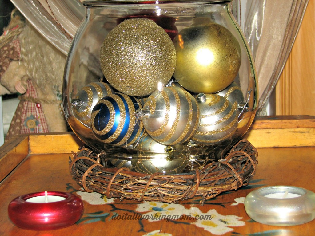 Budget friendly Christmas decoration idea
