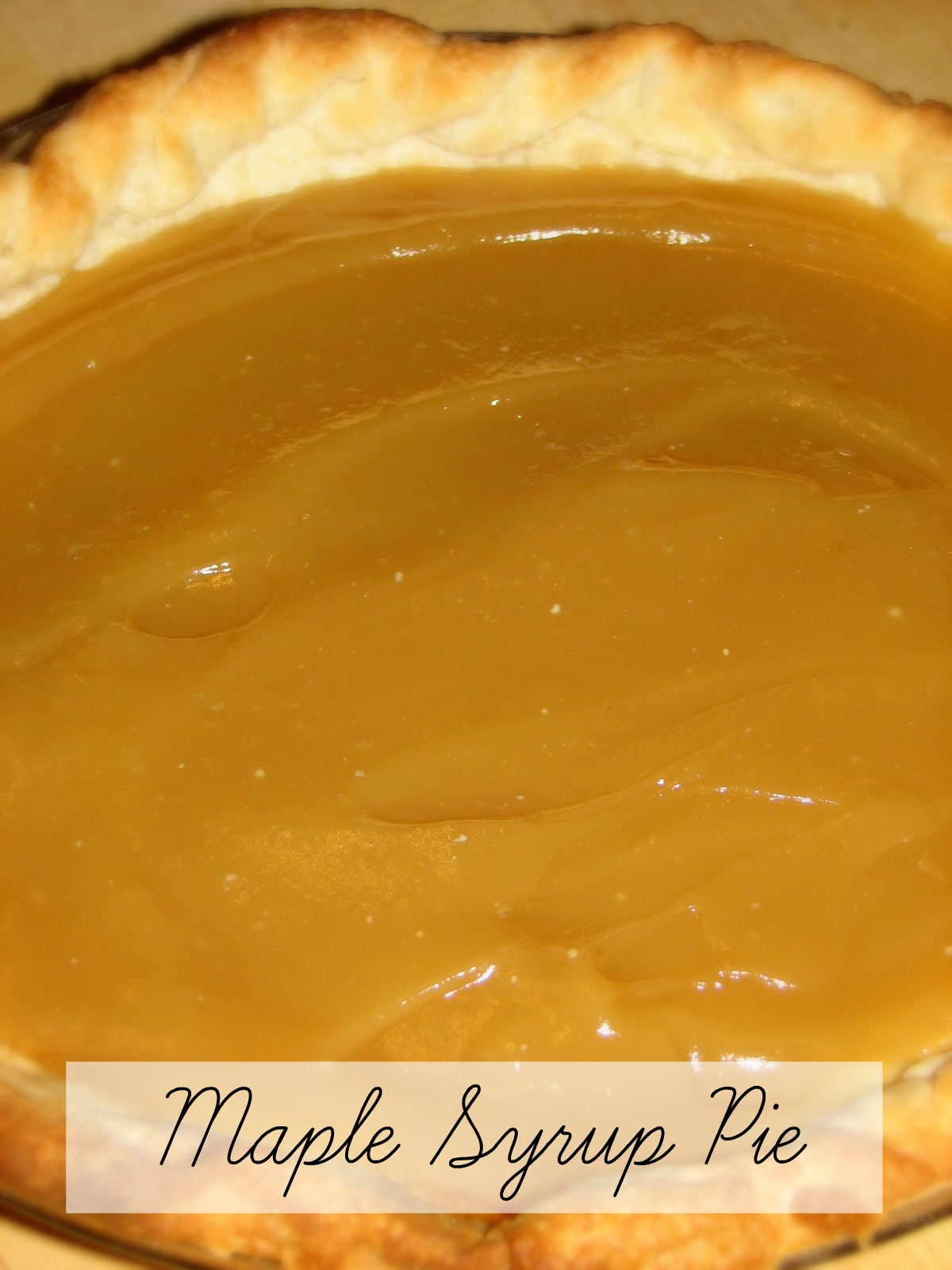 how to cook custard pie