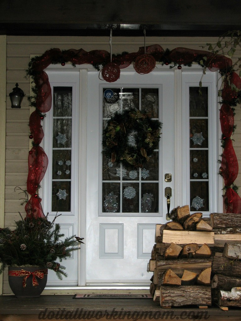 Christmas container and outside decorating Ideas