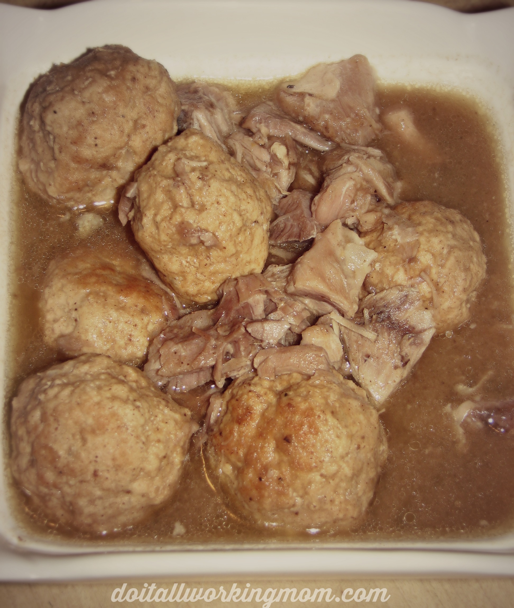 French Canadian Pig's Feet and Meatball Ragout Recipe