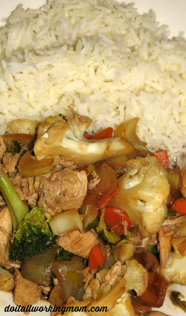 Do It All Working Mom - Chicken Stir Fry