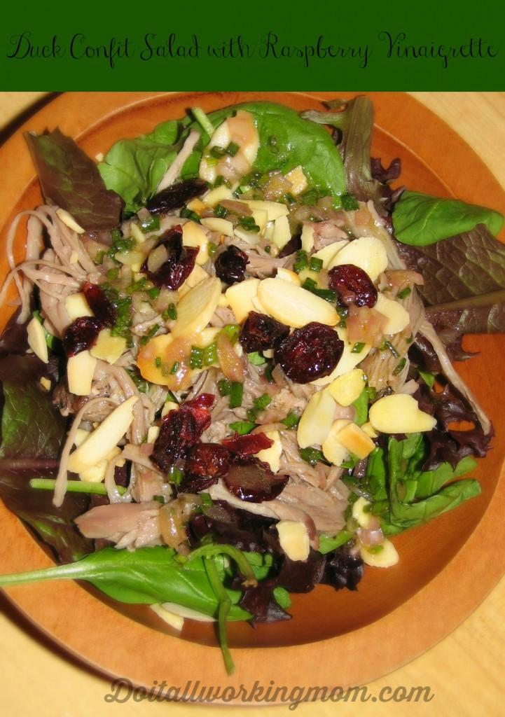 Doitallworkingmom duck confit salad 2