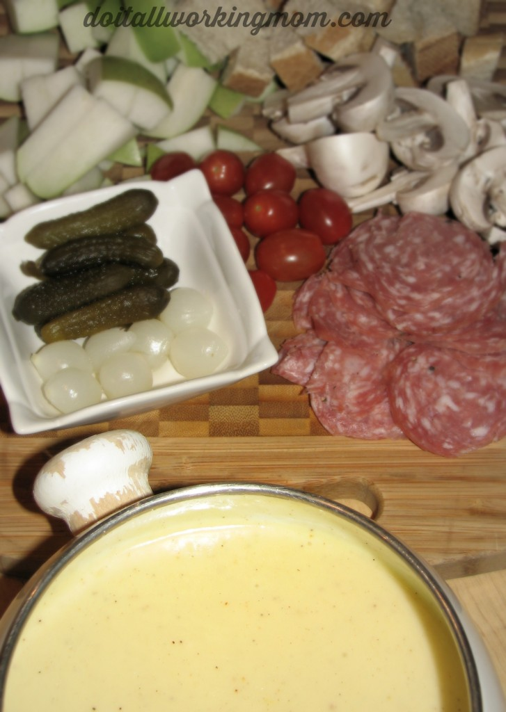 Do It All Working Mom - Easy and Delicious Cheese Fondue