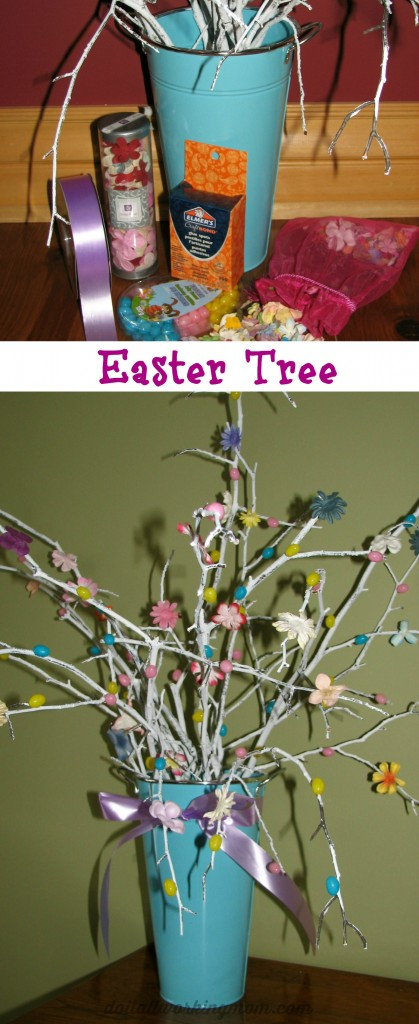 Do It All Working Mom - Easter Tree