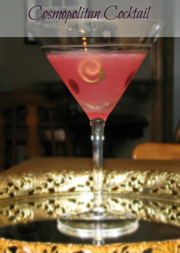 Cosmopolitan Cocktail - Do It All Working Mom