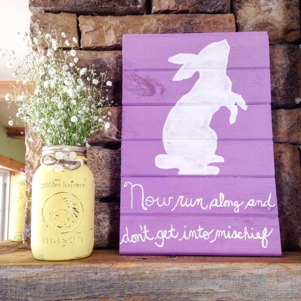 Peter Rabbit Sign