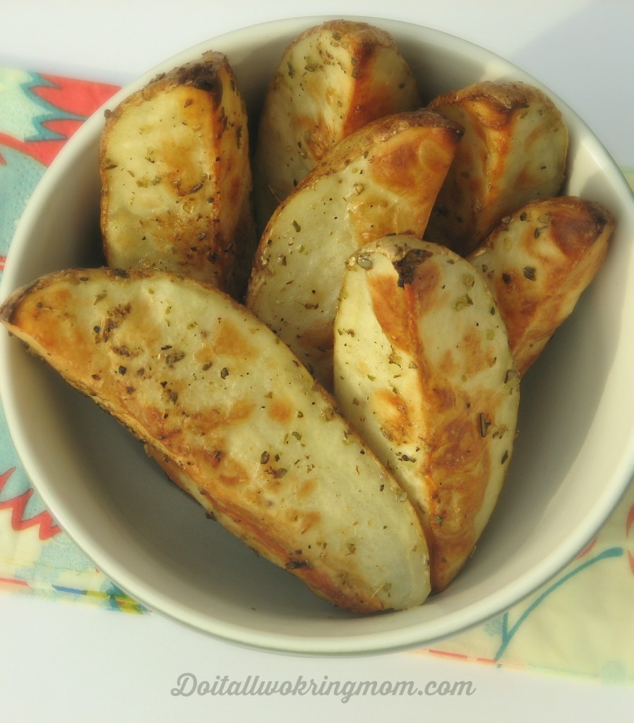 Do It All Working Mom - Baked Potato Wedges