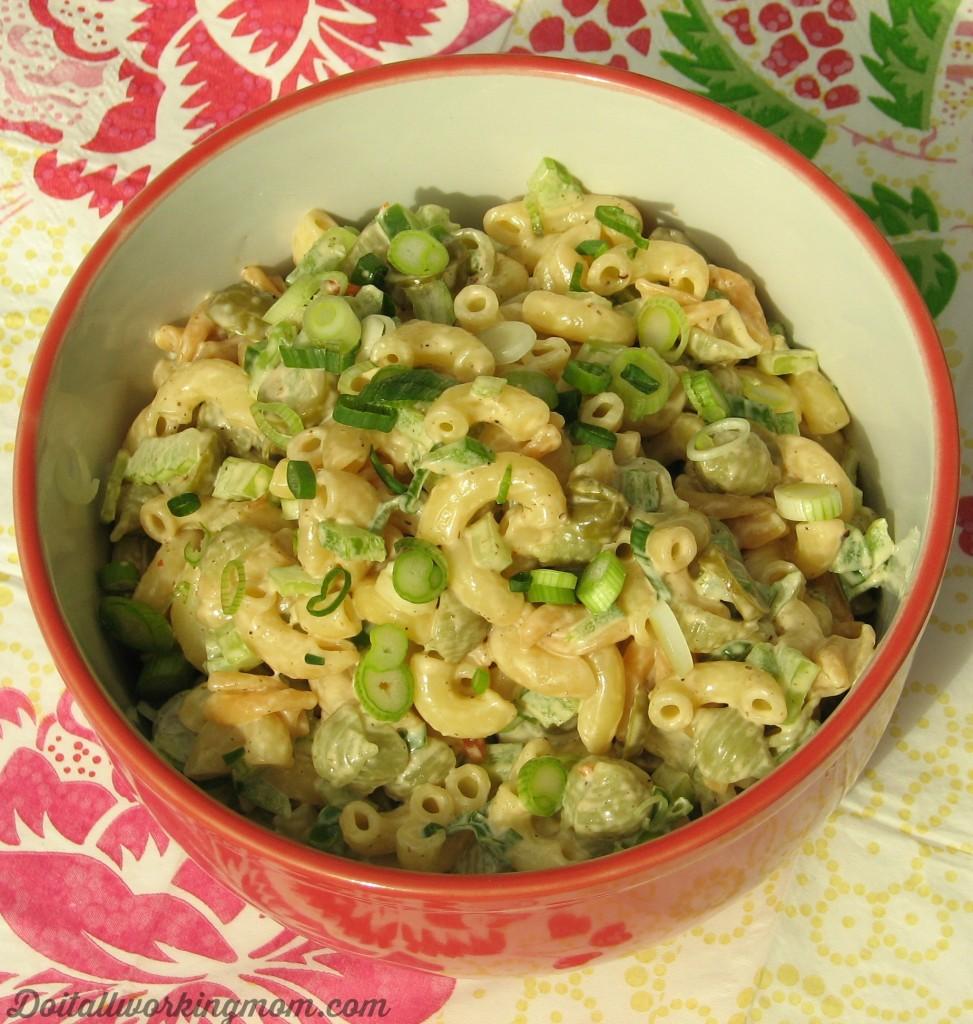 Do It All Working Mom - Macaroni Salad