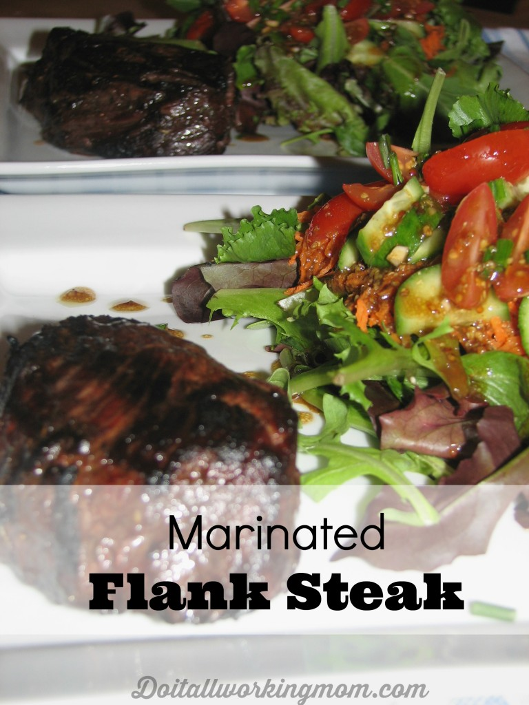 Do It All Working Mom - Marinated Flank Steak