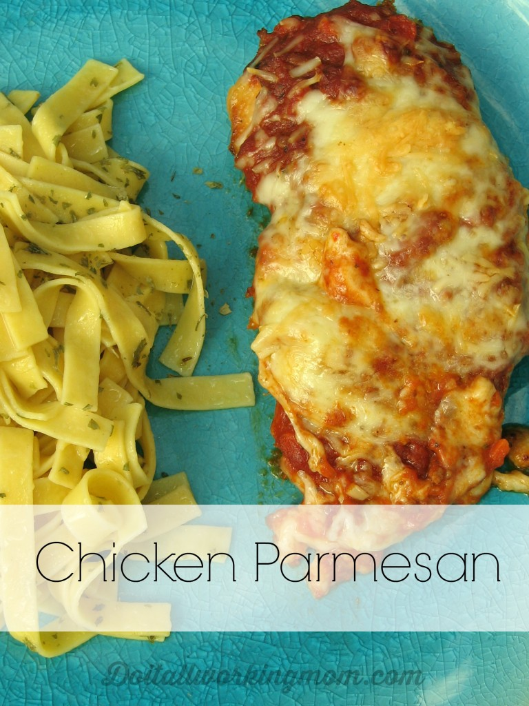Do It All Working Mom - Chicken Parmesan