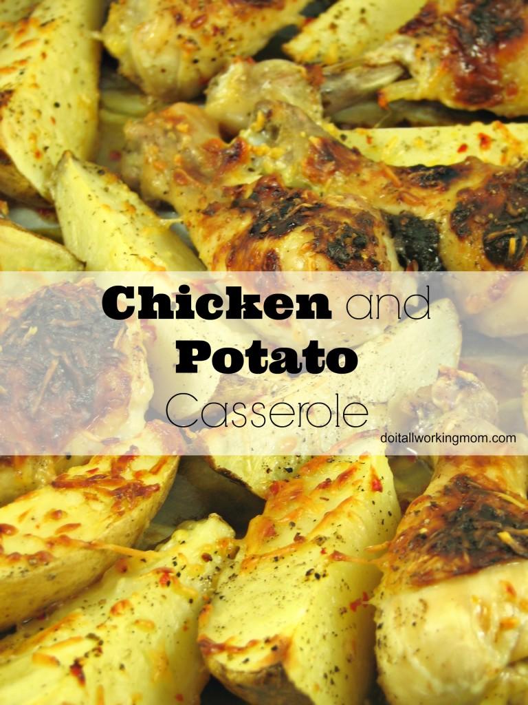 Do It All Working Mom - Chicken and Potato Casserole
