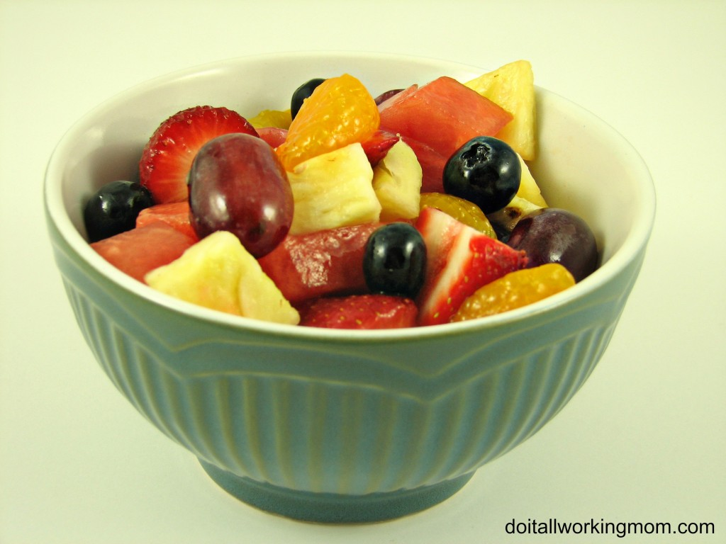 Do It All Working Mom - Fruit Salad 2