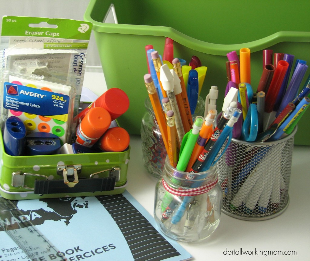 Do It All Working Mom - Homework Caddy 2