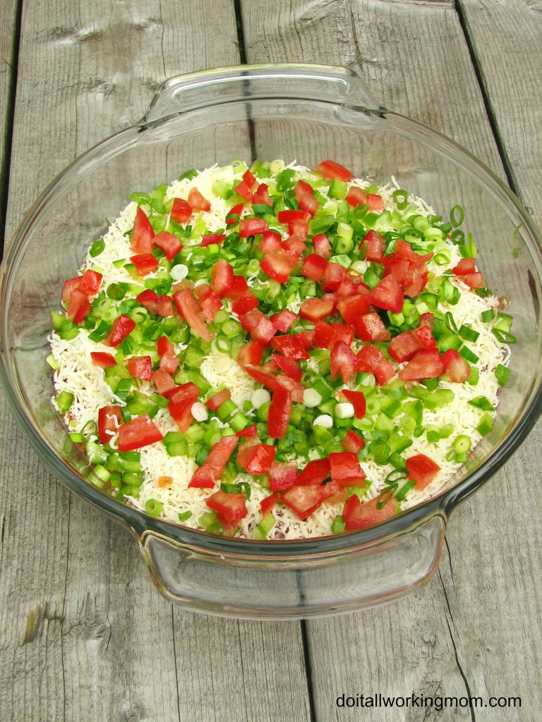Do It All Working Mom - Simple 4 layer Dip 1