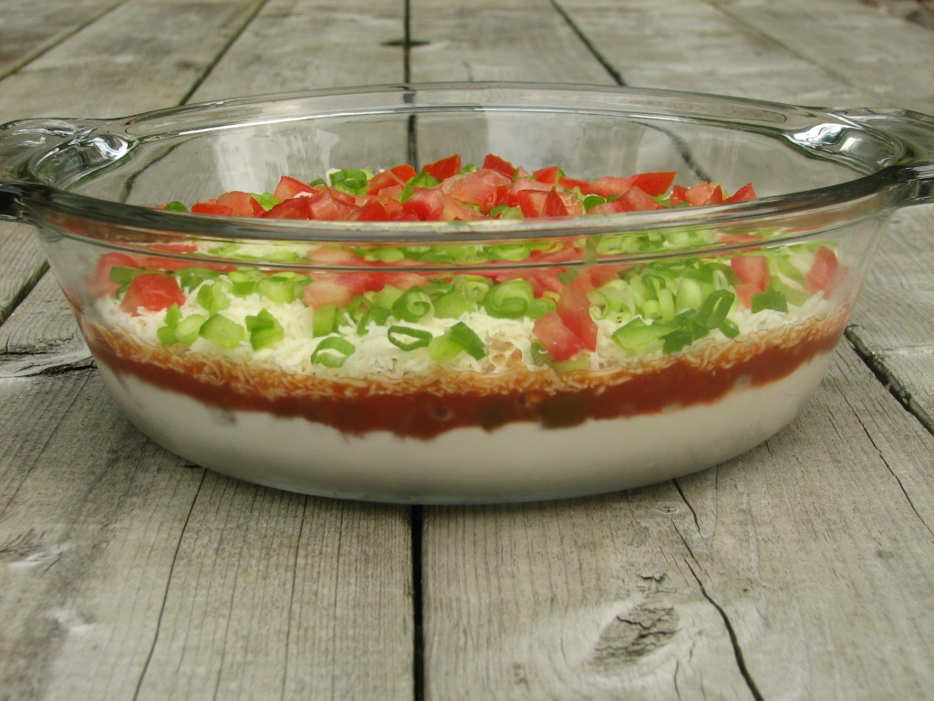Do It All Working Mom - Simple 4 Layer Dip