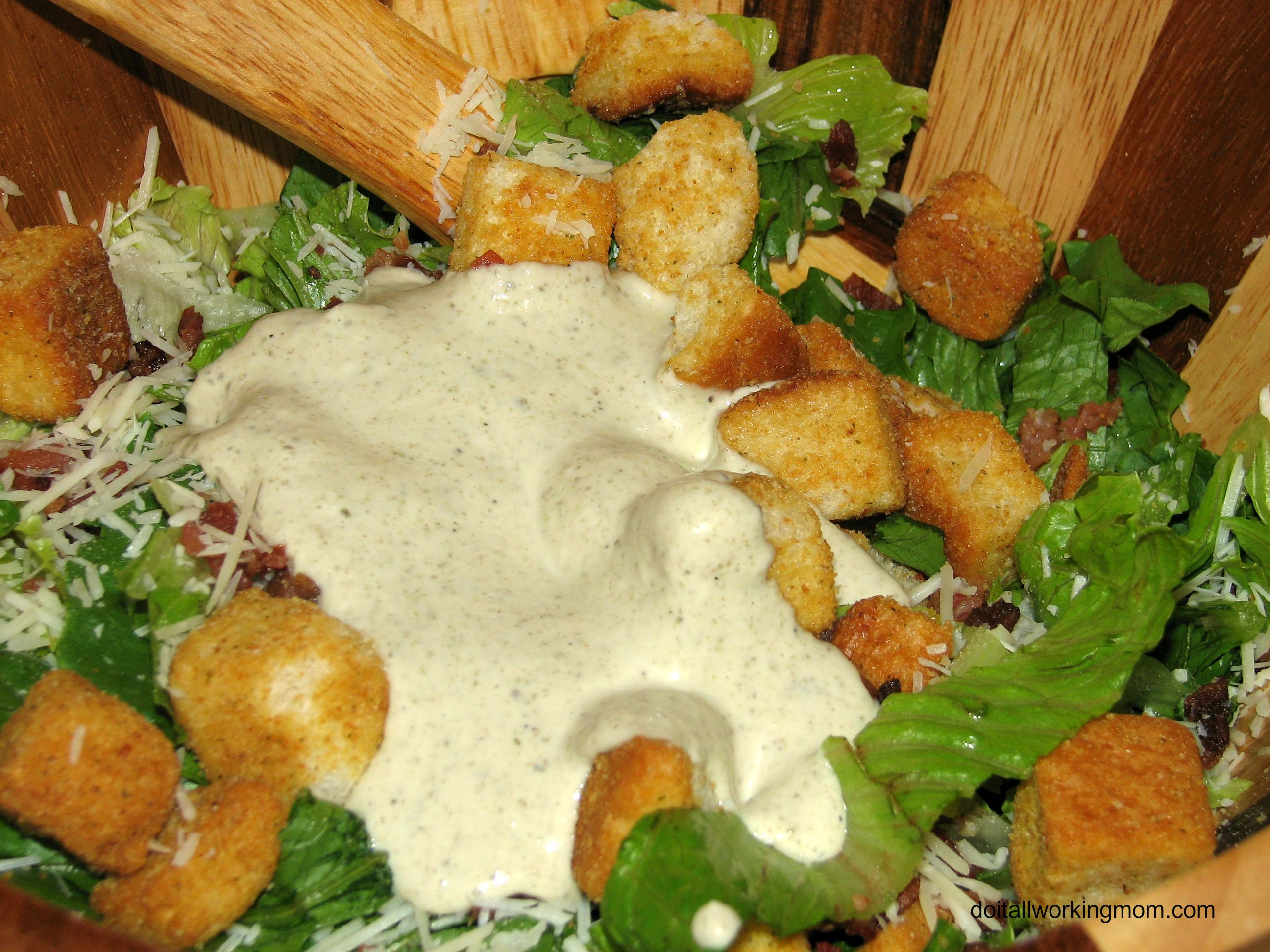 The Best and Easiest Homemade Caesar Dressing