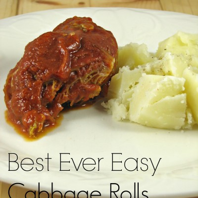 Best Ever Easy Cabbage Rolls