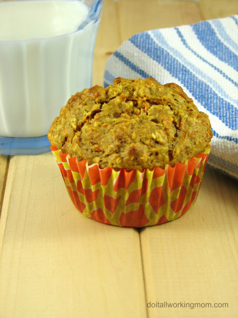 Do It All Working Mom - Carrot Muffins