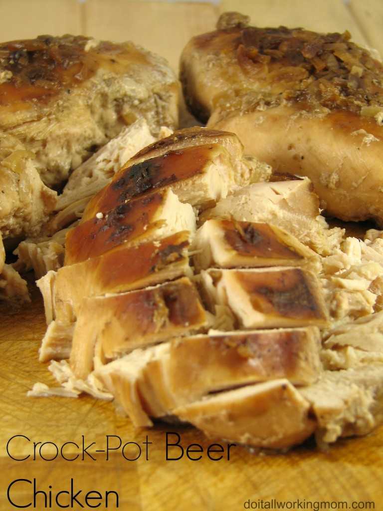 Do It All Working Mom - Crock-Pot Beer Chicken