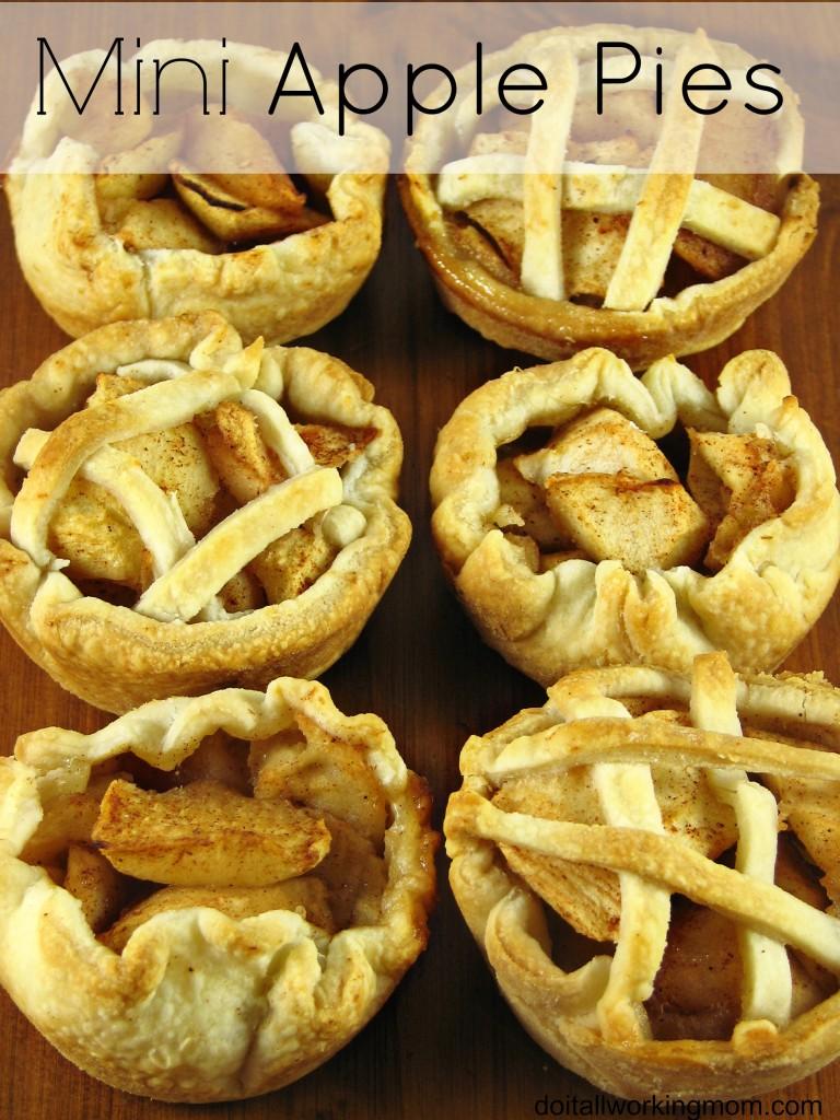 Do It All Working Mom - Mini Apple Pies
