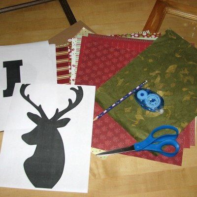 DIY Christmas Frames