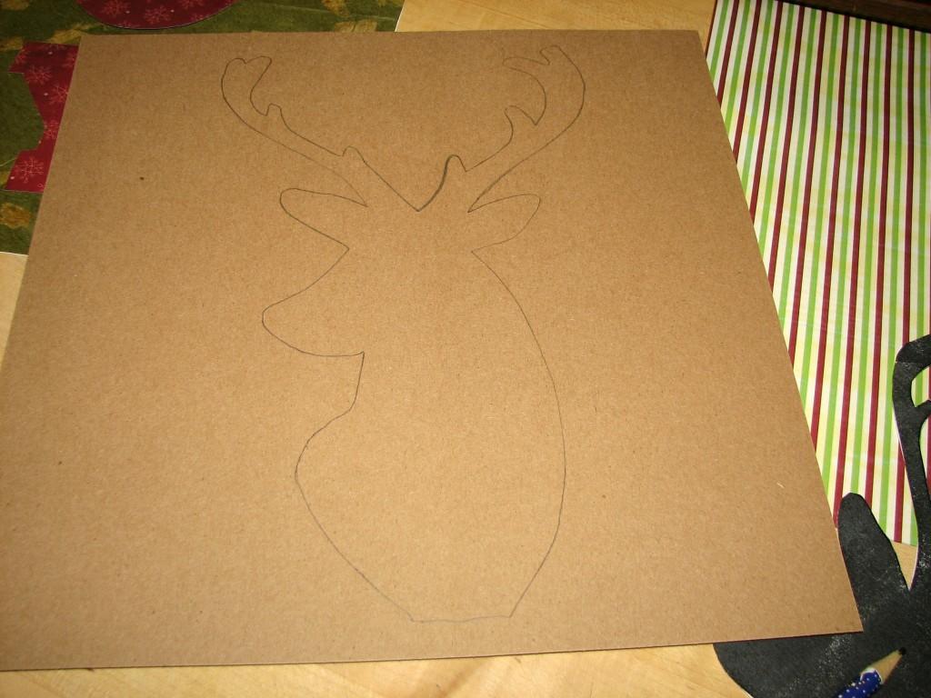 DIY Christmas Frames 3
