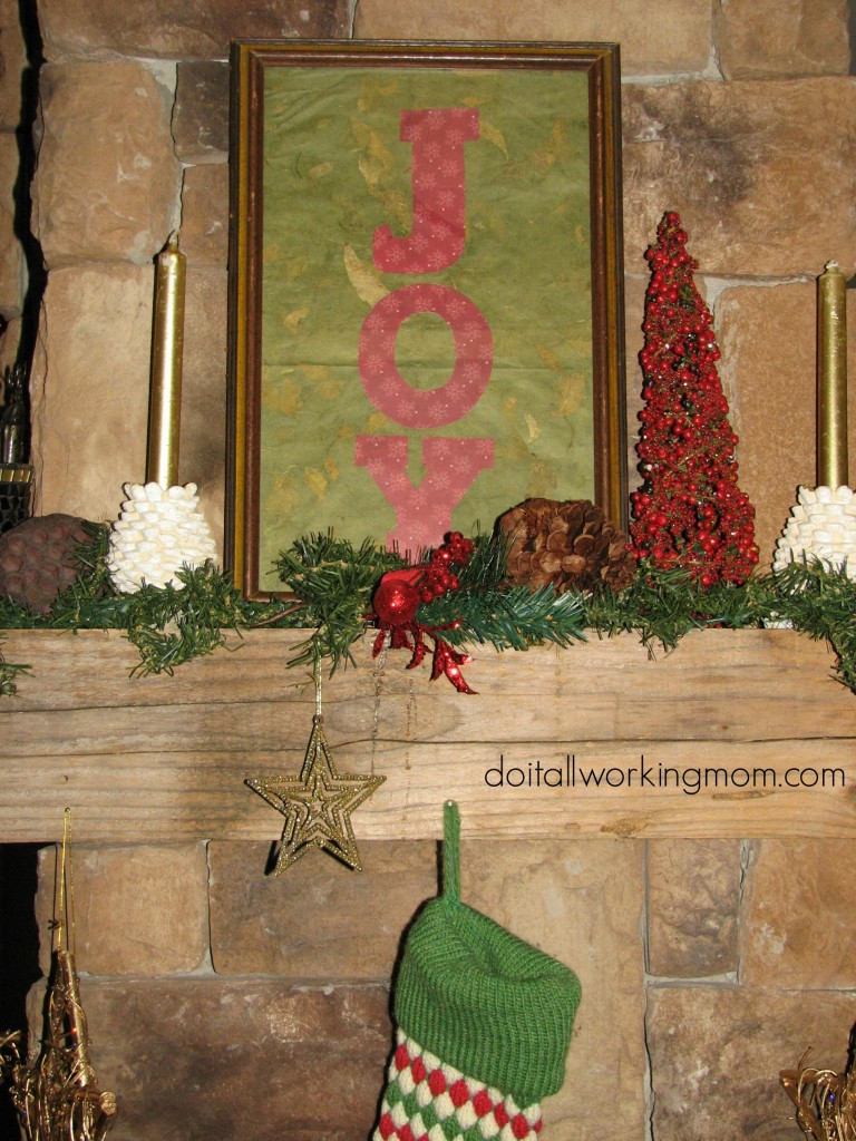 DIY Christmas Frames 6