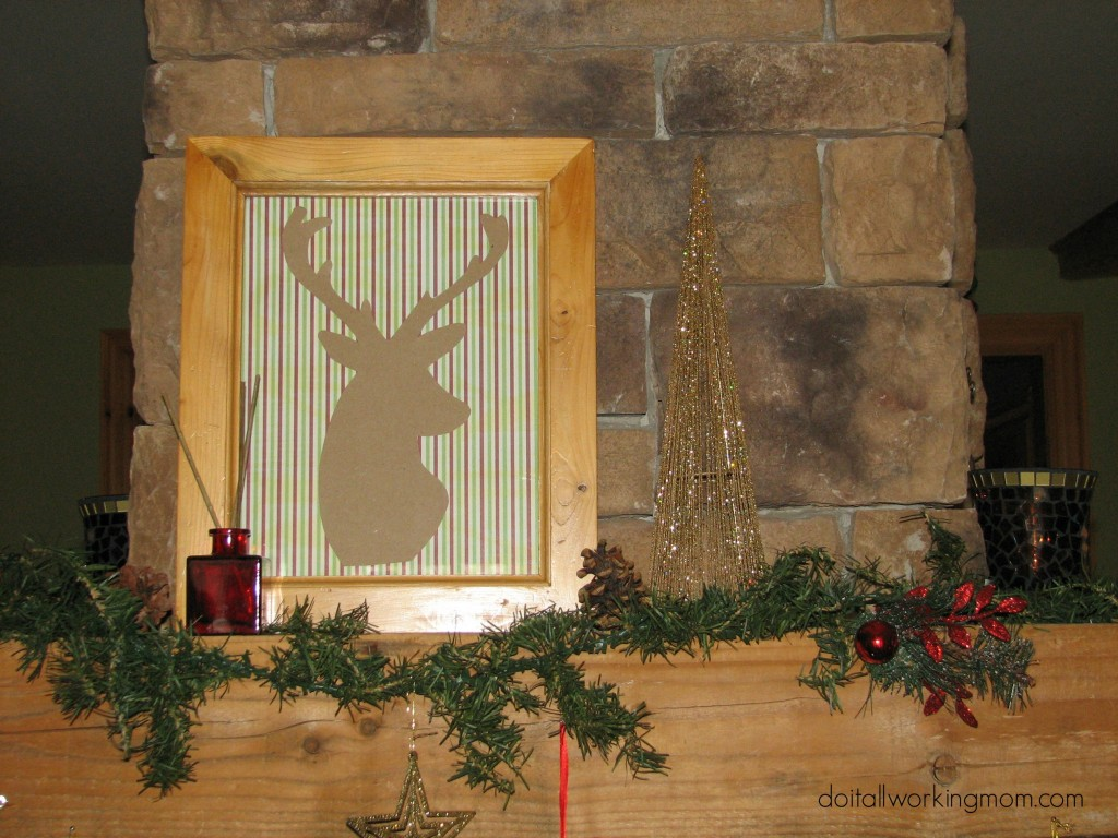 DIY Christmas Frames 7