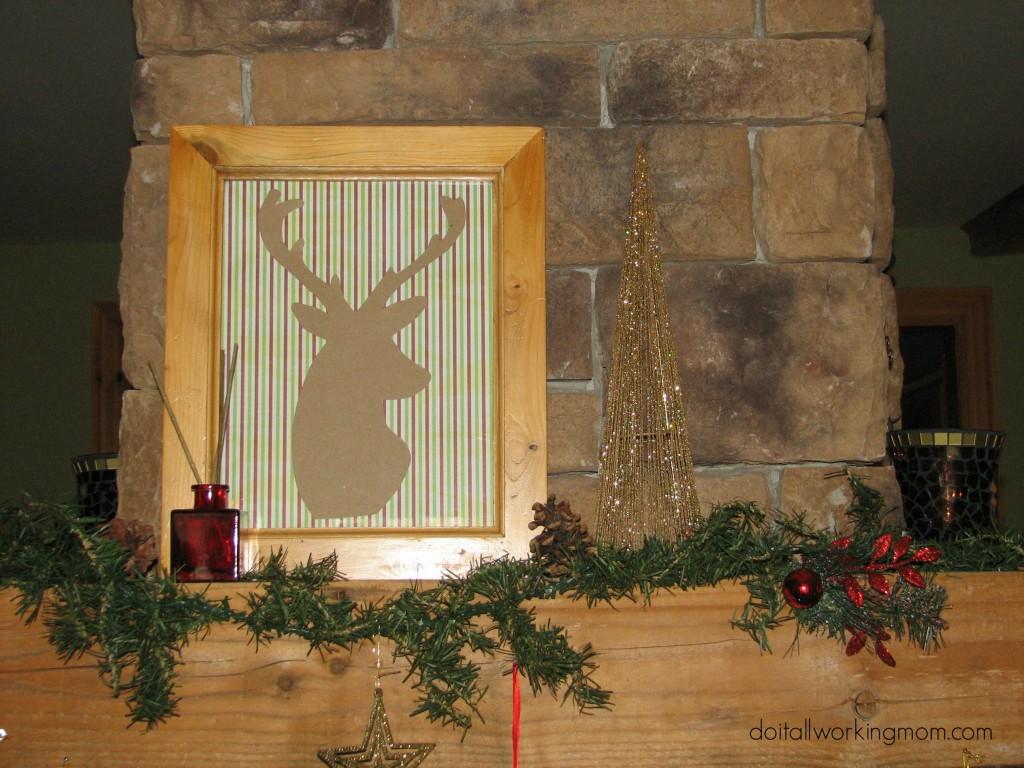 DIY Christmas Frames 7