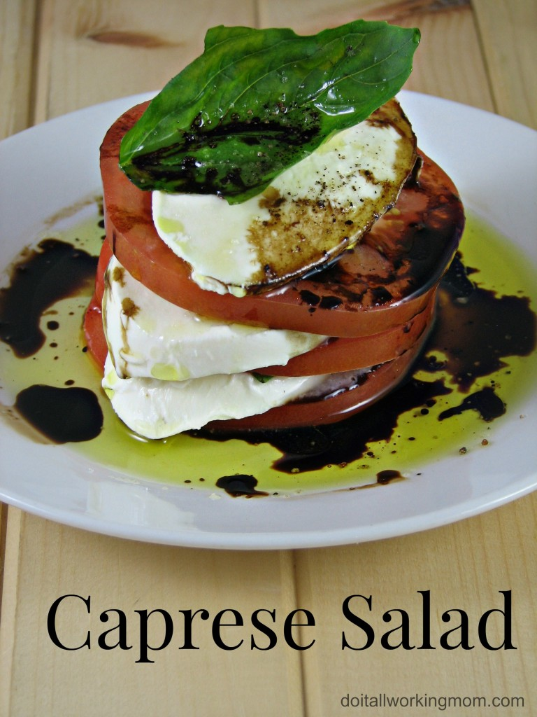 Do It All Working Mom - Caprese Salad
