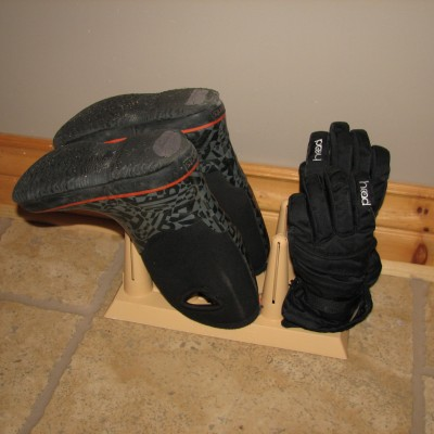 Boots and Mitts Drying Rack