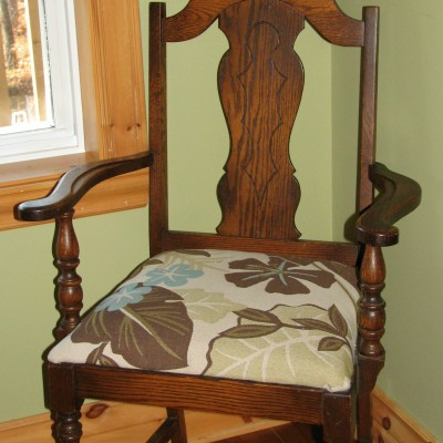 How to Reupholster Chairs Using Old Cushions