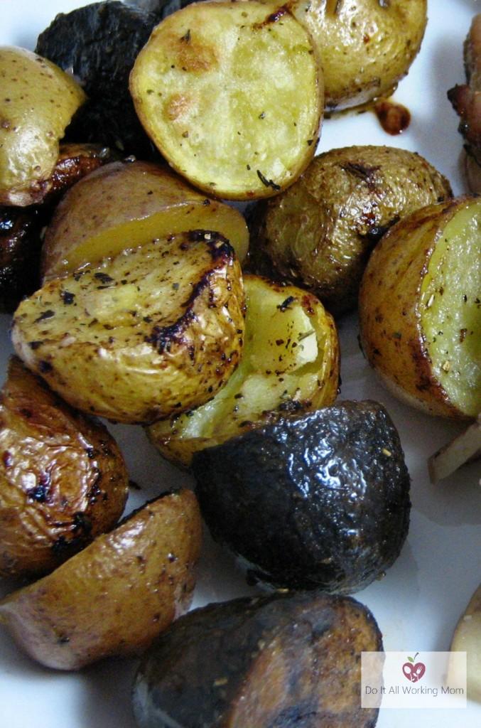 Easy Roasted Creamer Potatoes