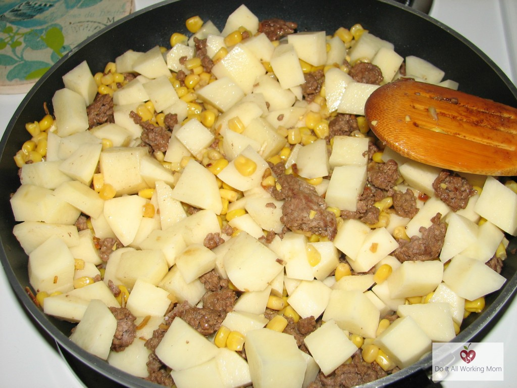 One Skillet Shepherd's Pie