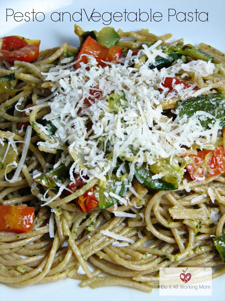 Pesto and Vegetable Pasta