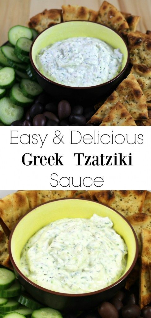 Easy Tzatziki Sauce Recipe — Dishmaps
