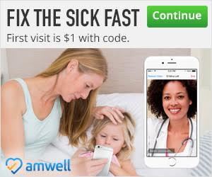 The convenience of Telemedecine with AMWELL