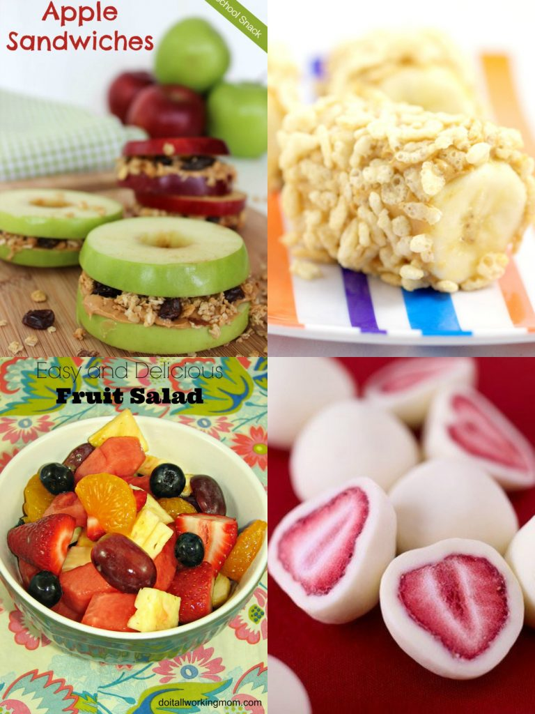 30 awesome after school snack ideas do it all working mom for Easy after school snacks for kids to make