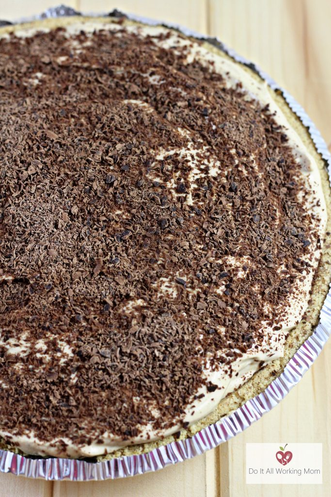 Greek Yogurt No-Bake Coffee Cheesecake 3