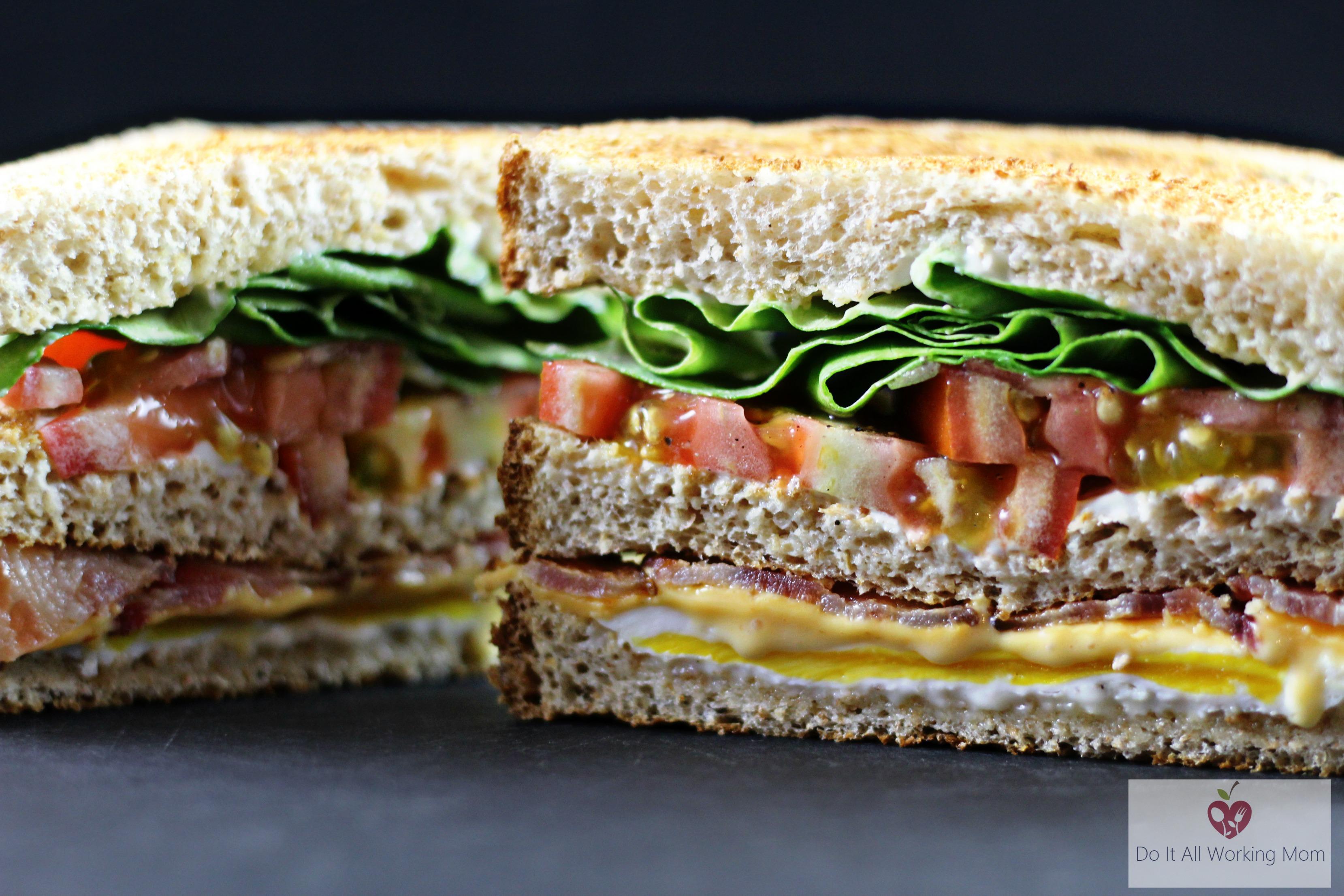 Easy Egg Club Sandwich
